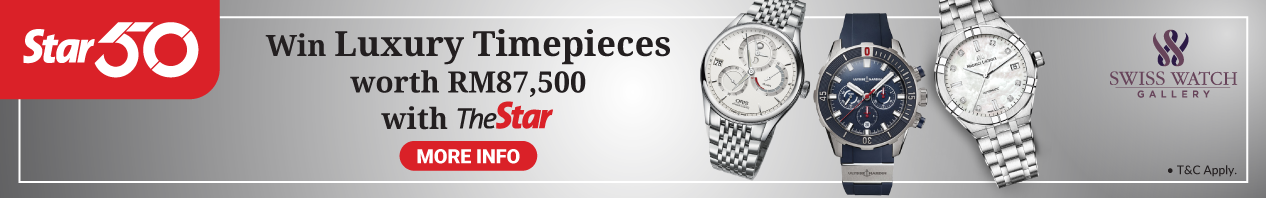 Win Luxury Timepieces with The Star